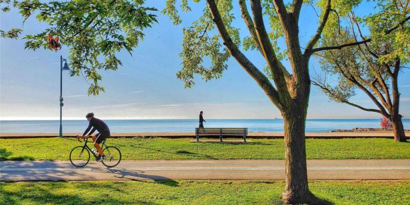 Bike trail and boardwalk